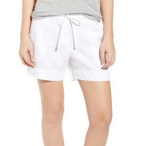 Tommy Bahama NWT White Linen Summer Shorts Sz 6